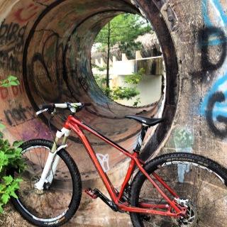 This bike takes on all terrain.